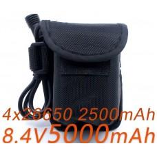 Блок аккумуляторов для велофары Сова 5000 мАч