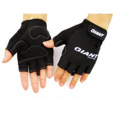 Перчатки без пальцев Giant черные размер L
