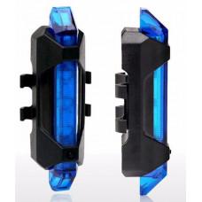 Задний габарит с литиевым аккумулятором синий