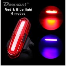Задний габарит на аккумуляторной батарее Deemont BCL-201 красный-синий