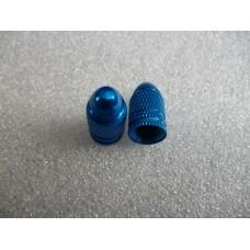 Колпачек на ниппель Шредер(авто) синий