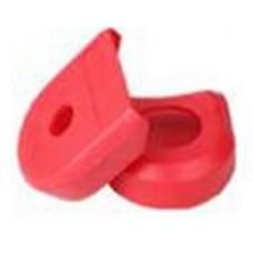 Защитные силиконовые наконечники для шатунов красные
